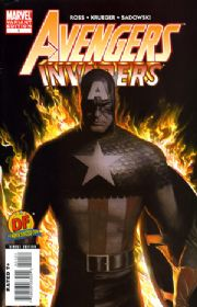Avengers Invaders #1  Dynamic Forces Variant Alex Ross COA DF Marvel comic book